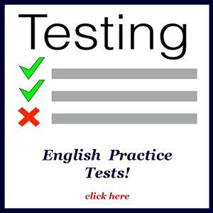 english tests
